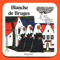 Sous Bock - Coaster Bière Blanche De Bruges à Brasserie Bruges Belgique - Beguine - Religieuses - Portavasos