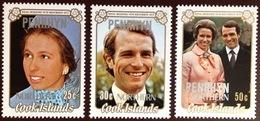 Penrhyn 1973 Royal Wedding MNH - Penrhyn