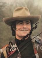 Alain Barriere - Singer - Original Autograph - Fotos Dedicadas