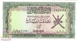 OMAN 1/2 RIAL 1977 PICK 16a UNC - Oman