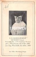E.D. Maria-Borgia - De Weerdt Urbanie  - Waardamme - Oostkamp