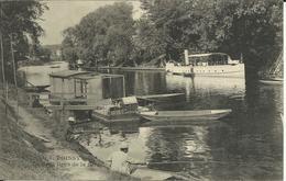* POISSY , Le Petit Bras De La Seine , CPA ANIMEE - Poissy
