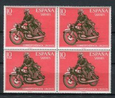Sahara 1971 Edifil 292 X 4 ** MNH. - Sahara Spagnolo