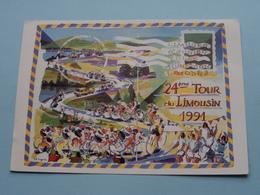 24ème TOUR Du LUMOUSIN 1991 ( AUBUSSON Artiste Jacques Cinquin >>> Voir Photo Detail ) ! - Cyclisme