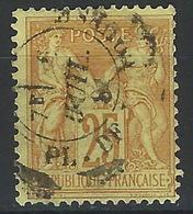 HH-/-521. N° 92,  Obl. ,  COTE 5.00 €,  Je Liquide - 1876-1898 Sage (Tipo II)