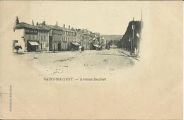 * SAINT MAIXENT , Avenue Denfert , Carte Précurseur Animée - Saint Maixent L'Ecole