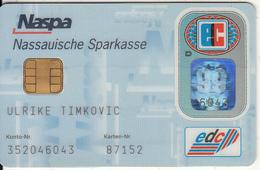 GERMANY - Nassauische Sparkasse Bank(Naspa)(reverse DSV), Eurocheque, 08/96, Used - Tarjetas De Crédito (caducidad Min 10 Años)