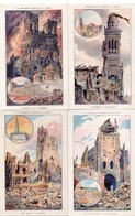 Lot De 9 Cartes Monuments Victimes De La Guerre Reims,albert,arras,st Quentin,peronne,verdun,ypres,noyon - Guerra 1914-18