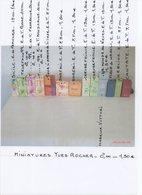 MINIATURES De PARFUM Yves ROCHER 2,00 - 1,50 € - Miniaturen Flesjes Dame (met Doos)