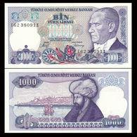 TURKEY 1000 LIRA  1986 UNC - Turchia
