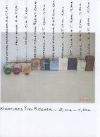 MINIATURES De PARFUM Yves ROCHER  2,00 -1,50€ - Miniaturen Flesjes Dame (met Doos)
