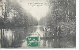 33 - LA SALVETAT - L'AGOUT A PEYRELADE  (Animées ) - La Salvetat