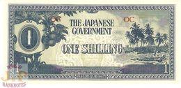 OCEANIA 1 SHILLING 1942 PICK 2a UNC - Bankbiljetten