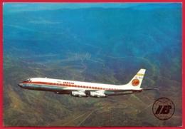 IBERIA. Douglas DC - 8 / 52.  EC - BAV - 1946-....: Era Moderna