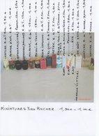 MINIATURES De PARFUM Yves ROCHER  1,50 -1,00 € - Miniaturen Flesjes Dame (met Doos)