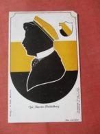 Cps Suevia Heidelberg    Removed From Album Paper Loss In Corner Ref 3828 - Silhouette - Scissor-type