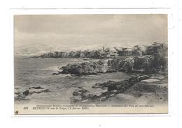 CPMJ3863 BEYROUTH SOUS LA NEIGE 11 FEVRIER 1920 - Lebanon