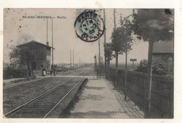 Blanc Mesnil  Halte - Le Blanc-Mesnil