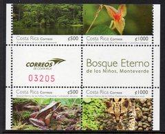 Costa-rica 0937/40 Grenouille, Felin Ocelot, Flore Orchidée, Forêt - Briefmarken