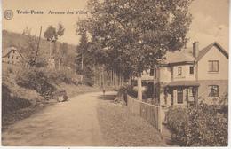 Trois-Ponts - Avenue Des Villas - 1934 - Edit. Grand Bazar Des Ardennes, Trois Ponts - Trois-Ponts