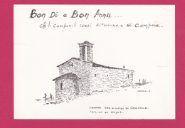 20- CHAPELLE SAN NICOLAU DI SERRANO - REGION DU BOZIO -CARTE EDITEE EN  CORSE - Other Municipalities
