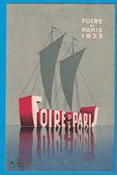 FOIRE DE PARIS 1933 HUIT MILLE EXPOSANTS - Publicités