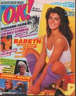 OK ! N° 367 01-1983 - JOHNNY HALLYDAY-BABETH-RICHARD GERE-MICHAEL LANDON-GRACE & CAROLINE-STAR TREK - Muziek