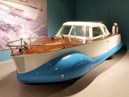Fiat Boatcar  (1953)   -  Carte Postale Modern - Passenger Cars