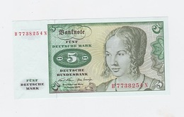 5 Mark Du 2-1-1970  Neuf - [ 7] 1949-… : RFA - Rep. Fed. De Alemania
