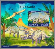 SIERRA LEONE 2019 MNH Dinosaurs Dinosaurier Dinosaures S/S - OFFICIAL ISSUE - DH2001 - Prehistorics