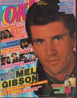 OK ! N° 392 07-1983 - MEL GIBSON - FRANCIS HUSTER - DANIEL GUICHARD - CELINE DION - - Musique