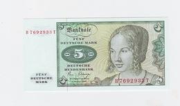 5 Mark Du 2-1-1980  Neuf - [ 7] 1949-… : RFA - Rep. Fed. De Alemania