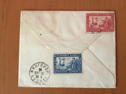 Cover From Paddington To Vannes (France) With Two Cinderella Remenber Always - 1902-1951 (Kings)
