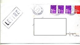 Lettre Cachet Fere Sur Luquet - Marcophilie (Lettres)
