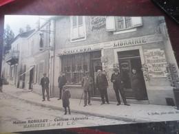 RARE- MARLOTTE - MAISON ROBILLOT - COIFFEUR LIBRAIRIE - Francia