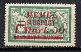 MEMEL  - A23* - TYPE MERSON - Memel (1920-1924)