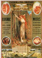Chemin De Fer D'ORLEANS - ALVIGNAC-MIERS - Hugo D'ALESI - Reclame
