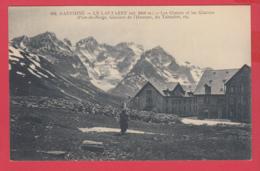 CPA-05-Le LAUTARET- 1915 - Les Chalets Les Glaciers Pics-de-Neige, Du Tabuchet, Glacier De L'Homme- 2 SCAN- - Francia