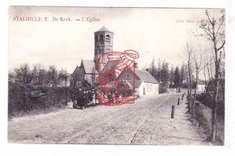 PK Stalhille Jabbeke - De Kerk - St.-Jan De Doperkerk / Ed. Th. Hoste - Jabbeke