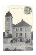 BRUSSEY HOTEL DE VILLE ET EGLISE - Francia