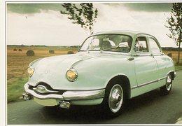 Panhard Dyna Z   (1954)  -  Carte Postale Modern - Passenger Cars