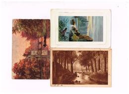 """Lot De 8 Cartes """"Peintures"""" - Paintings"""