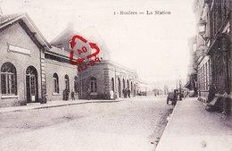 ROULERS - La Station - Carte Circulé Sous Domination Allemande Le 09-03-1915 - Roeselare