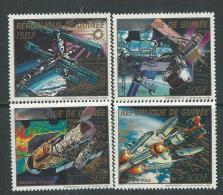 Guinée  N° 857 / 60 XX  Exploration De L'espace, Les 4 Valeurs  Sans Charnière TB - Guinea (1958-...)