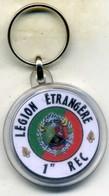 Porte-clé, 1er Rgt étranger De Cavalerie (REC) - Insigne & Ordelinten