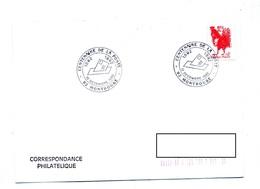 Lettre Cachet Montrouge Centenaire Poste - Storia Postale