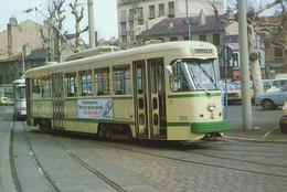 Saint Etienne (42) Motrice PCC N°503 Place Bellevue. Mars 1982 - Saint Etienne