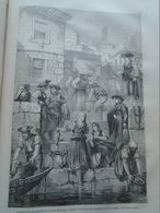 Porto - Marchandes De Poisson  - Portugal -    Gravure   -old Engraving 1861 TDM1861.1.297 - Estampes & Gravures