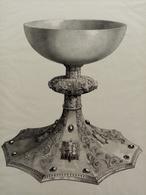 Calice De L'Eglise De Skálholt. Cuillers En Corne Sculptée (Islande.) - Lithografieën