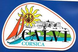 A.C CALVI Corse - Autocollants